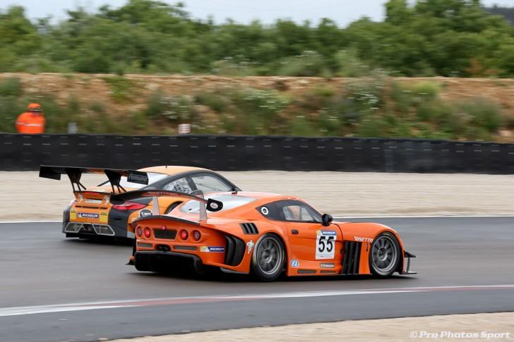 Ginetta G55 GT3 Dijon. Credit pro-photos-sport