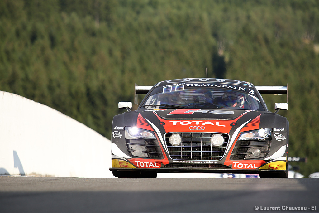 spa 24 hours strong audi performances in the qualifying. Black Bedroom Furniture Sets. Home Design Ideas