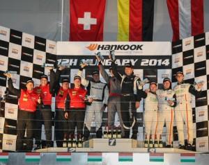 Overall podium Hankook 12H HUNGARY 2014_800pix