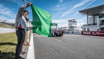 The Green Flag at the start of the WEC 6 Hours of Fuji - Fuji Speedway - Oyama - Japan