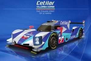 Cetilar Villorba Corse Dallara LMP2 2017 livery