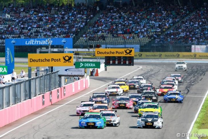 Motorsports / DTM 1. race Hockenheimring, GER
